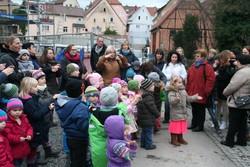 Richtfest Kinderhaus Seidelareal