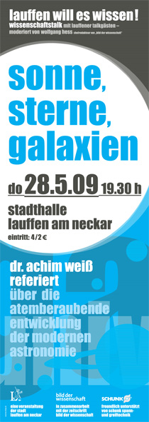 Flyer Galxien
