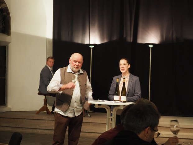 Weingut Seybold Neujahrsempfang Hölderlin-Freundeskreis