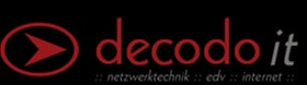 Logo der Firma Decodo IT