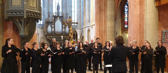 Freiburger Kammerchor in Lauffen a.N. (Foto: Bettina Keßler)