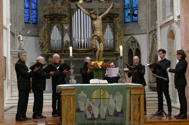 Freiburger Kammerchor - Männerchor (Foto: Helga El-Kothany)